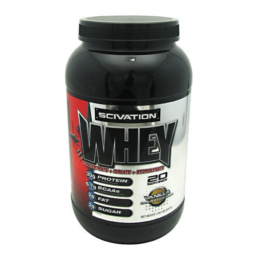 Scivation Whey - Vanilla - 2 lb - 812135020323