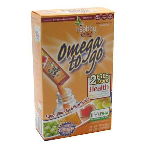 Healthy To Go! Omega To Go
