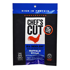 Chefs Cut Real Jerky Real Chicken Jerky - Buffalo Style - 1.25 oz - 858959005184