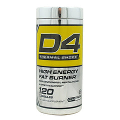 Cellucor G4 Chrome Series D4 Thermal Shock - 120 Capsules - 810390025220