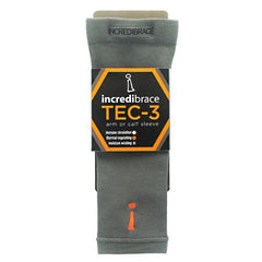 Incrediwear Incredibrace Tec-3 Arm/Calf Sleeve - Short - 1 ea - 858349003325