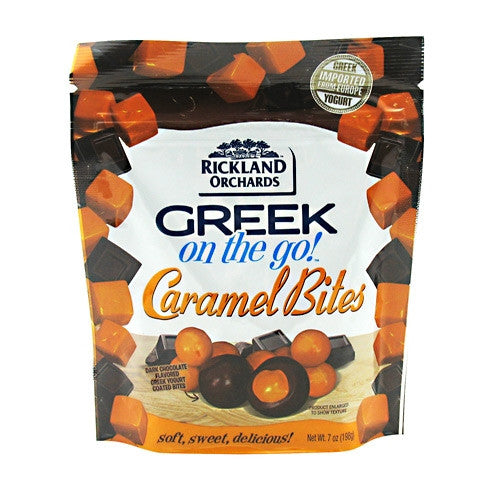 Rickland Orchards Greek On-The-Go - Caramel Bites - 6.5 oz - 819944010576
