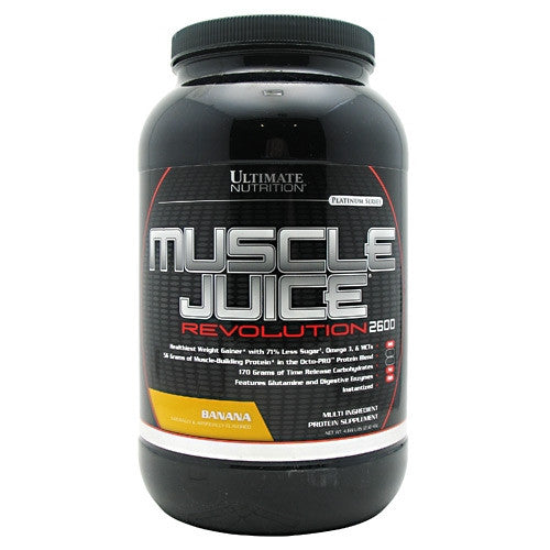 Ultimate Nutrition Platinum Series Muscle Juice Revolution 2600 - Banana - 4.69 lb - 099071002334
