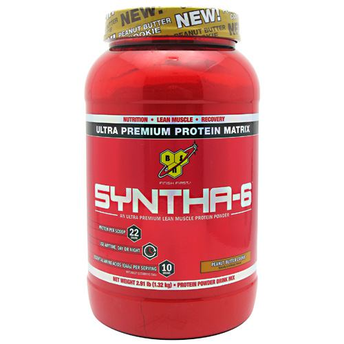 BSN Syntha-6 - Peanut Butter Cookie - 2.91 lb - 834266006281