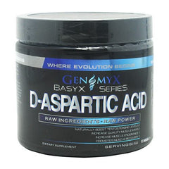 Genomyx D-Aspartic Acid - Unflavored - 60 Servings - 040232082511