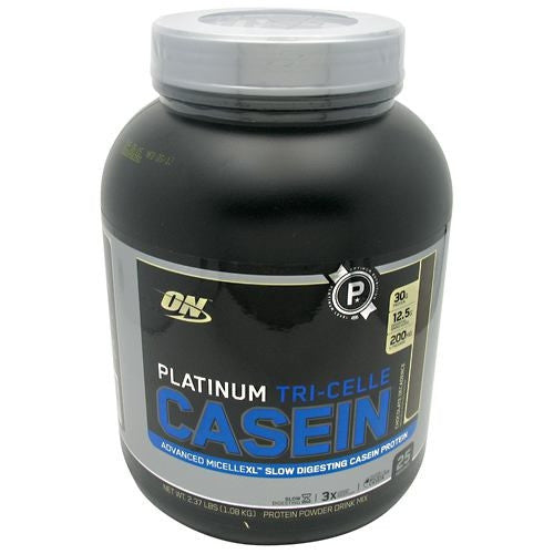 Optimum Nutrition Platinum Tri-Celle Platinum Tri-Celle Casein - Chocolate Decadence - 25 Servings - 748927050738