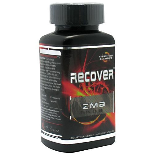 Formutech Nutrition Recover ZMA - 90 Capsules - 793573908780