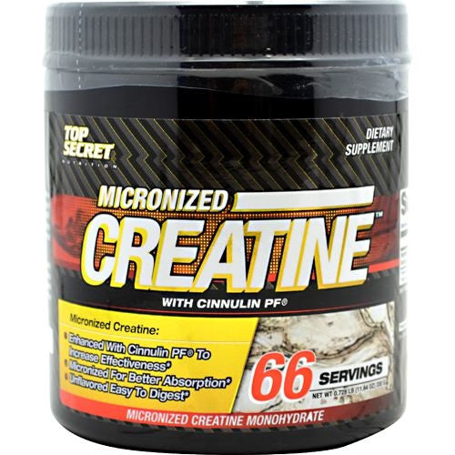 Top Secret Nutrition Micronized Creatine - 66 Servings - 858311002790