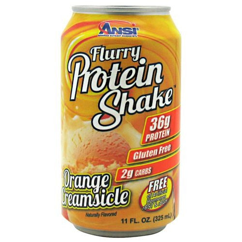 Advance Nutrient Science Flurry Protein Shake - Orange Creamsicle - 12 Cans - 689570407152