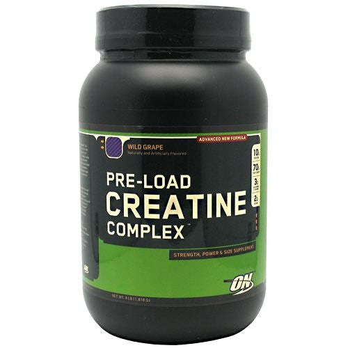 Optimum Nutrition Pre-Load Creatine Complex - Wild Grape - 4 lb - 748927021684