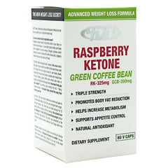 4 Dimension Nutrition Raspberry Ketone + Green Coffee Bean - 60 ea - 856036003498
