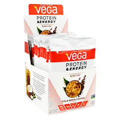 Vega Protein & Energy - Cold Brew Coffee - 12 ea - 838766006338