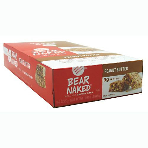 Bear Naked Bear Naked Bar - Peanut Butter - 8 Bars - 884623100299