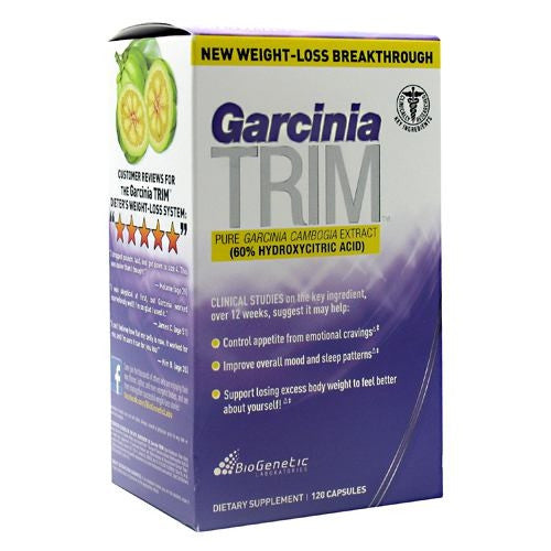 BioGenetic Laboratories Garcinia Trim - 120 Capsules - 883488002755