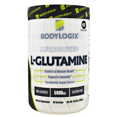 BodyLogix Micronized L-Glutamine - Unflavored - 60 Servings - 694422030518