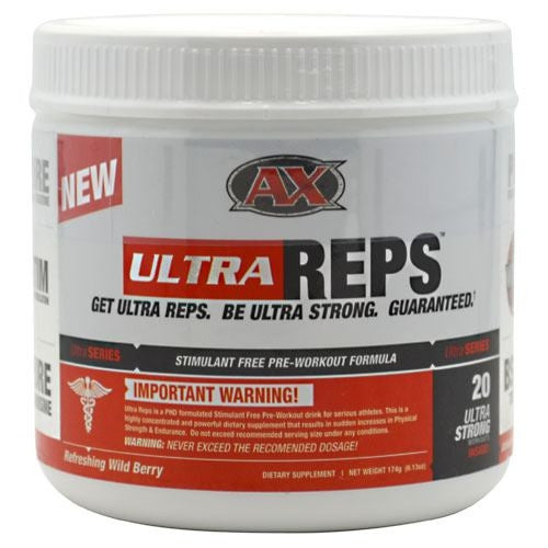 Athletic Xtreme Ultra Series UltraReps - Refreshing Wild Berry - 174 g - 791851111471