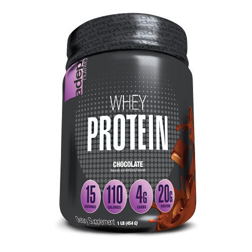 Adept Nutrition Whey Protein - Chocolate - 1 lb - 850850003375