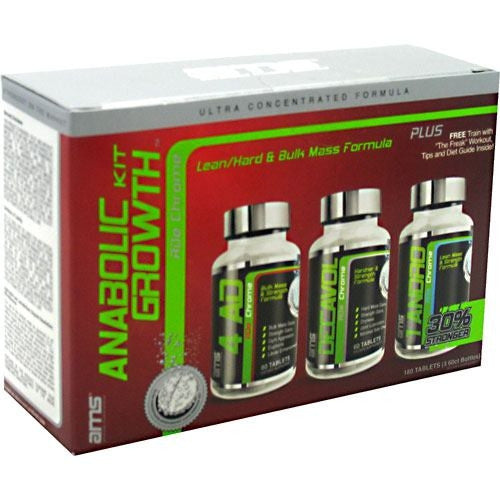 Advanced Muscle Science Pro Anabolic Growth Kit - 180 Tablets - 893461001897