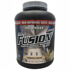 Dymatize Elite Fusion 7 - Cookies & Cream - 4 lb - 705016920365