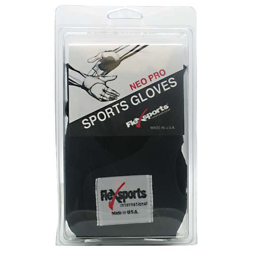Flex Sports Neo Pro Sports Gloves Black - X-Small -   - 718774349224