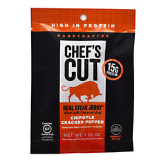 Chefs Cut Real Jerky Real Steak Jerky - Chipotle Cracked Pepper - 1.25 oz - 858959005078