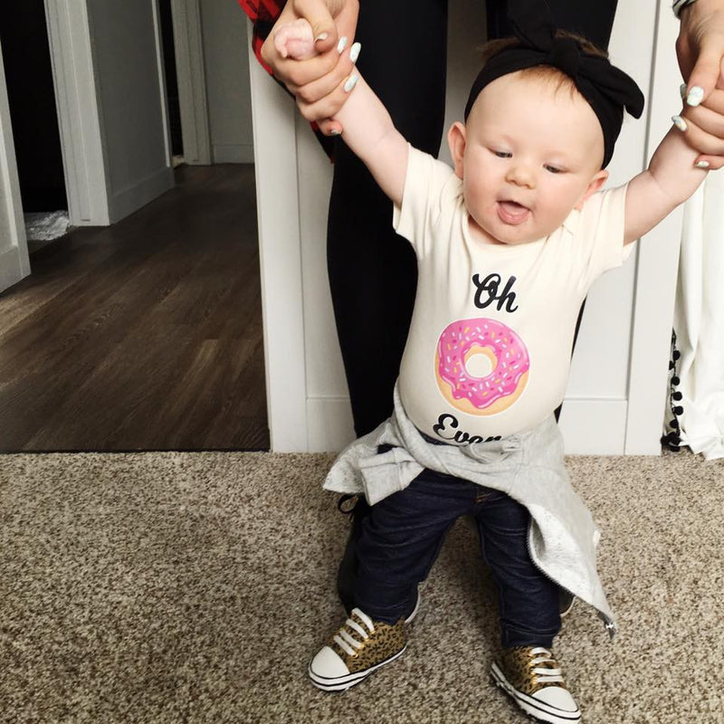 Oh Don't Even Donut Organic Baby Onesie®