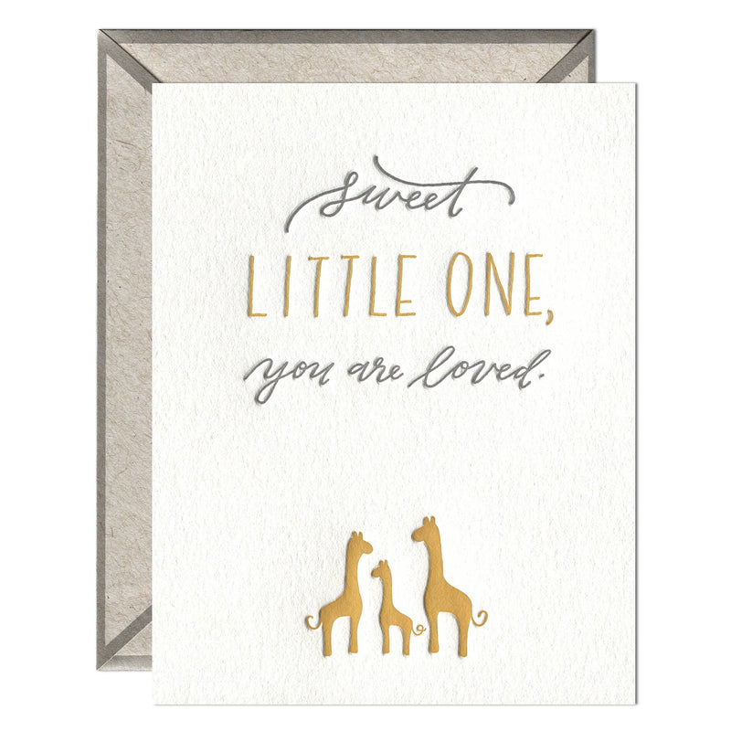 Sweet Little One Greeting Card