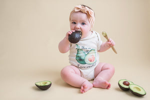 You're All I Avo Wanted Avocado Organic Baby Onesie