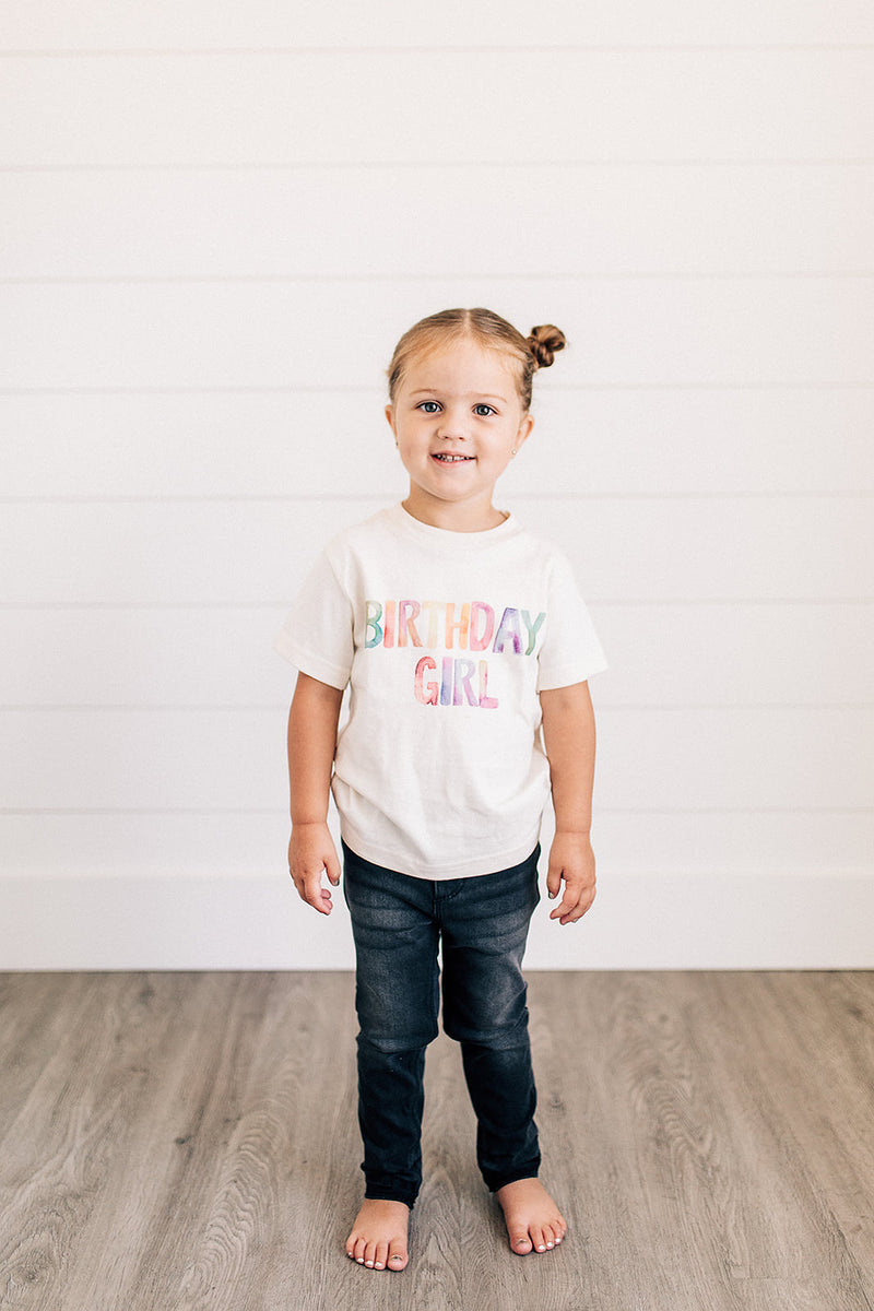 Birthday Girl Organic Baby Onesie® & Toddler Tee - Urban Baby Co.