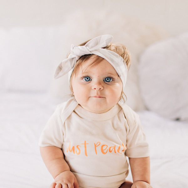 Just Peachy Organic Baby Onesie®