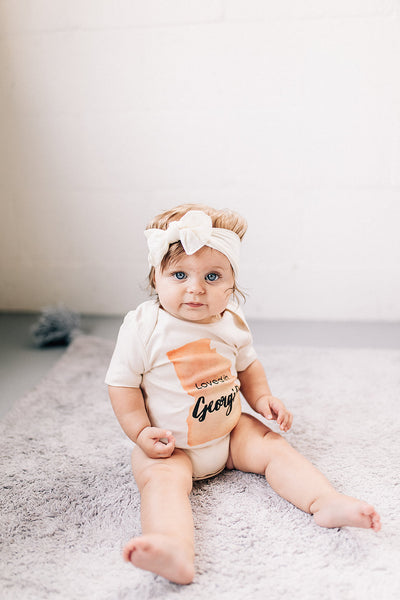 Loved in Georgia Organic Baby Onesie®