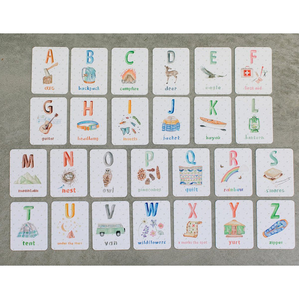 Packadoo Alphabet Cards for Kids