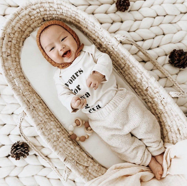 Yours For Eva & Eva Organic Baby Onesie®