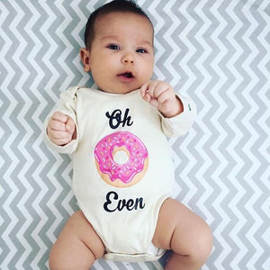 Oh Don't Even Donut Organic Baby Onesie