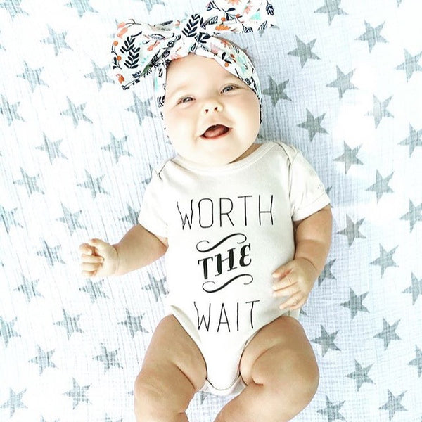 Worth The Wait Organic Baby Onesie®