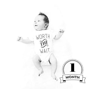 Adoption Worth The Wait Organic Baby Onesie