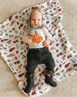 O is for Onion Organic Baby Onesie®