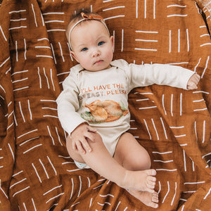 I'll Have The Breast Please Thanksgiving Turkey Organic Baby Onesie®