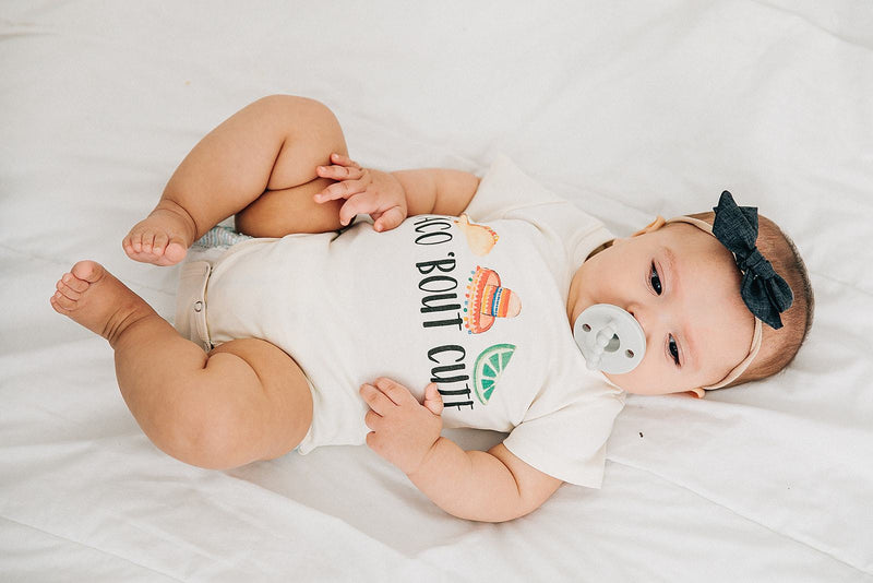 Taco 'Bout Cute Organic Baby Bodysuit