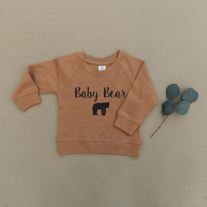 Baby Bear Organic Baby & Toddler Ginger Pullover