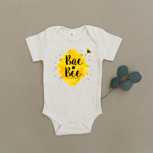 Bae Bee Bumblebee Honey Organic Baby Onesie®