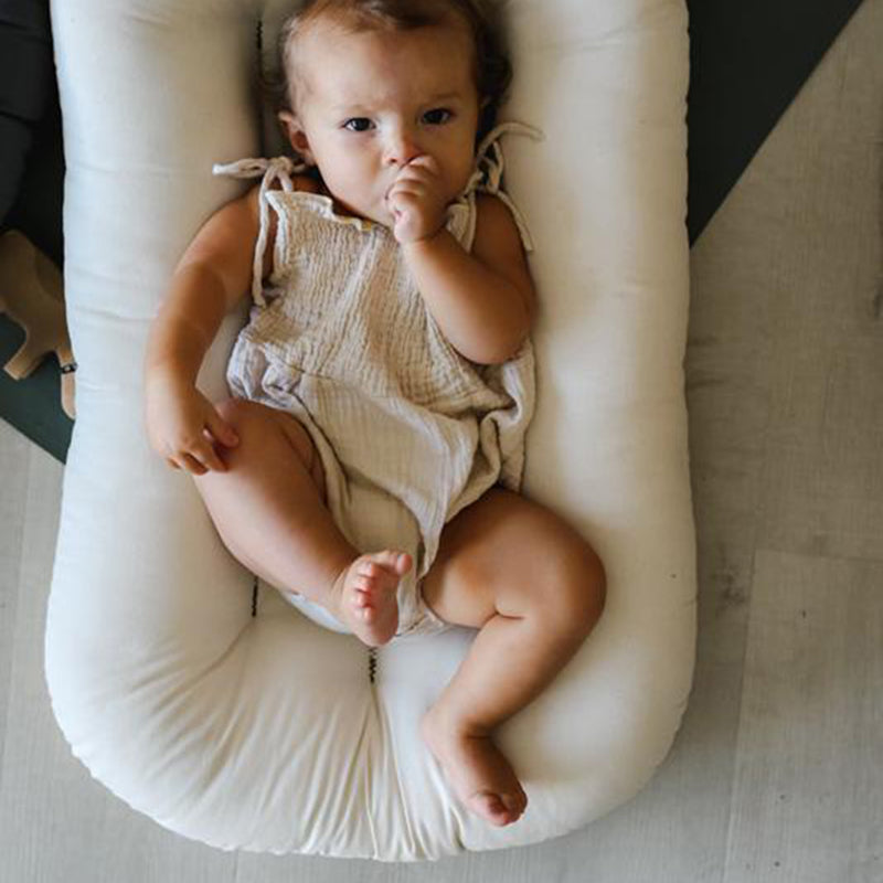 Snuggle Me Organic Infant Lounger - Natural
