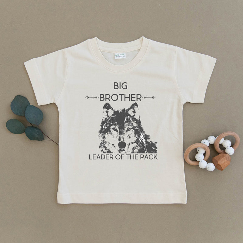Big Brother Wolf Organic Cotton Toddler Tee