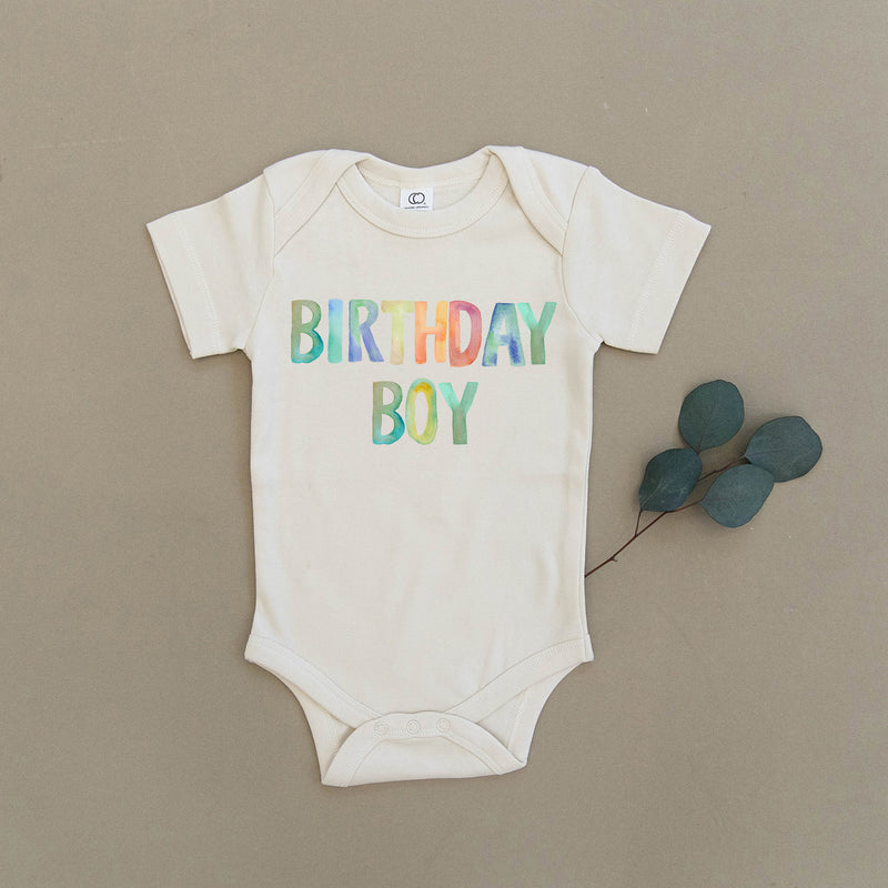 Birthday Boy Organic Baby Onesie®