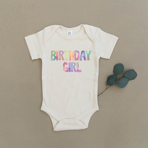 Birthday Girl Organic Baby Onesie®
