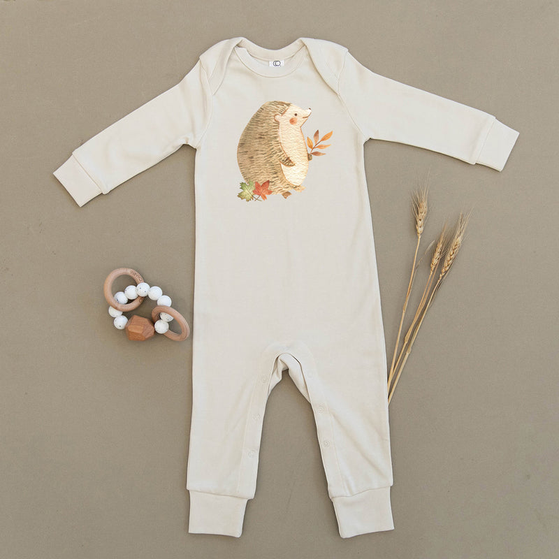 Hedgehog Organic Baby Playsuit