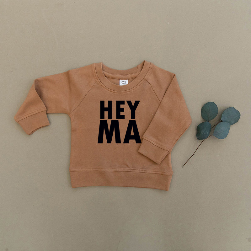 Hey Ma Organic Baby & Toddler Ginger Pullover