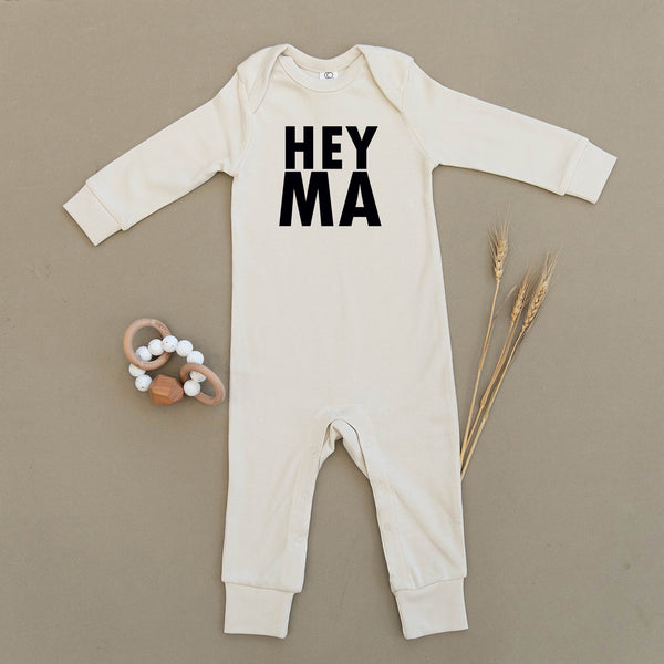 Hey Ma Organic Baby Playsuit