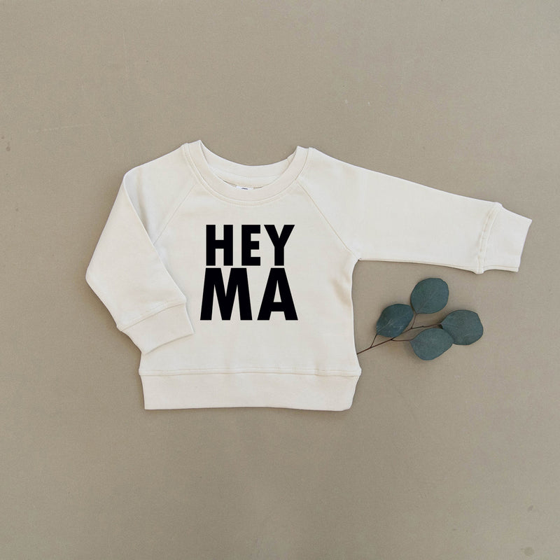 Hey Ma Organic Baby & Toddler Natural Pullover