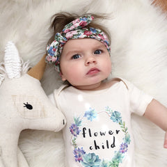 Flower Child Organic Baby Onesie®